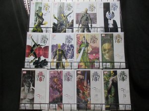 IMMORTAL IRON FIST (2007) 1-27,Annual,1-shots  COMPLETE