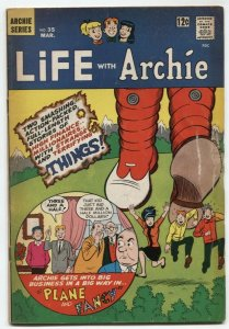 Life With Archie #35 1965-Betty & Veronica- G/VG