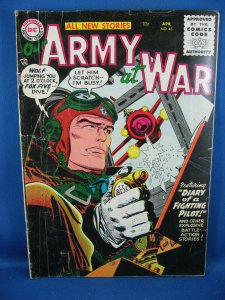 OUR ARMY AT WAR 45 VG+ 1956