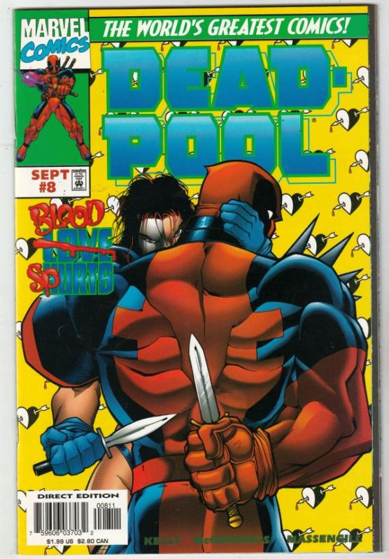 DEADPOOL #8 (Aug-97) NM/MT Super-High-Grade Deadpool