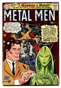 METAL MEN #17 DC comic book SILVER-AGE 1966