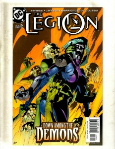 Lot Of 12 Legion DC Comic Books # 18 19 20 21 22 23 24 25 26 27 28 29 Flash GK34