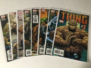 The Ting 1-8 1 2 3 4 5 6 7 8 Lot Set Run Vf Very Fine Marvel