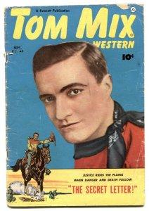 Tom Mix Western #45 1951- Golden Age G