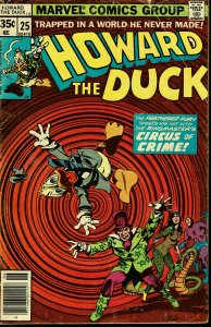 Howard the Duck #25 - VERY GOOD - Colan/Palmer Cover