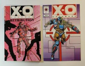 X-O MANOWAR: RETRIBUTION TPB SOFT COVER PLUS X-O MANOWAR DATABASE #1