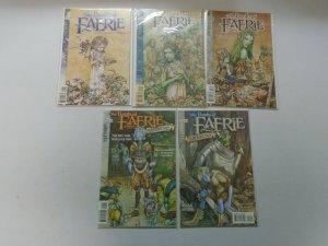 Books of Faerie 10 Different Books 8.0 VF (1997-1999)