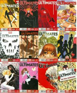 ALL NEW ULTIMATES (2014) 1A-12  COMPLETE !