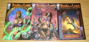 Books of Lore: Storyteller #1-3 VF complete series - peregrine comics set lot 2