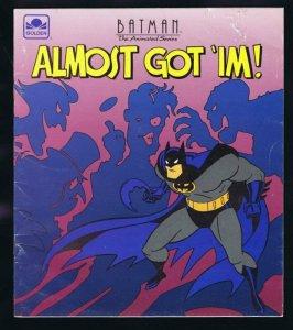 ORIGINAL Vintage 1993 Batman Almost Got Im 1st Appearance Harley Quinn Golden DC