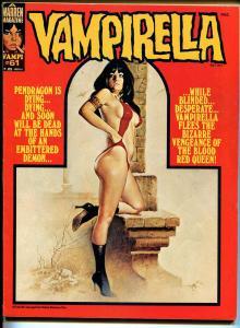 Vampirella #61 1977-Warren-Vampi cover-terror & horror-FN/VF