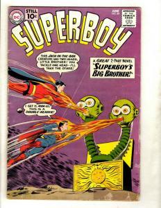 Superboy # 89 VG- DC Silver Age Comic Book Superman Batman Flash Arrow Atom GK1