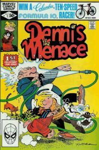 Dennis the Menace (Marvel) #1 VF; Marvel | save on shipping - details inside