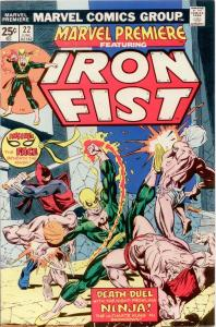 Marvel Premiere #22 NM 9.4 Iron Fist!