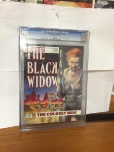 Marvel Graphic Novel The Coldest War Black Widow Cgc 9.6 Nn