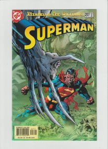 Superman 207 VF/NM 9.0 (2004, DC) Jim Lee Art! AWESOME!!