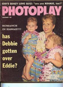 Photoplay-Debbie Reynolds-Steve McQueen-Elvis-Tuesday Weld-Nov-1959