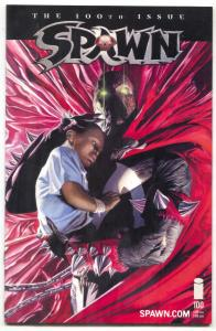 SPAWN #100 2000-Death of Angela & Malebolgia-Alex Ross NM-