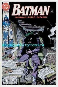 BATMAN #450, NM+, Joker, Wolfman, Bats, 1990, Gotham CIty, more BM in store
