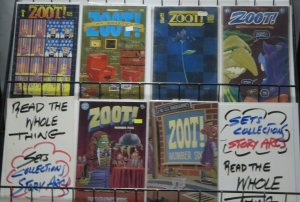 ZOOT! (Fantagraphics, 1993) #1-6 COMPLETE! New Zealand indie/alt comic goodness