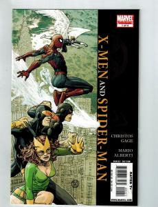 X-Men And Spider-Man # 1 Of 4 VF Marvel Limited Series Comic Book Wolverine S75