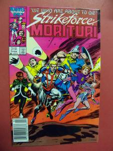 STRIKEFORCE MORITURI #3    (9.0 to 9.4 or better)  MARVEL COMICS