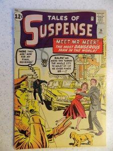 TALES OF SUSPENSE # 36 VINTAGE MARVEL ATLAS SILVER HORROR MYSTERY SUSPENSE