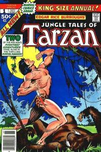 Tarzan (1977 series) Annual #1, Fine- (Stock photo)