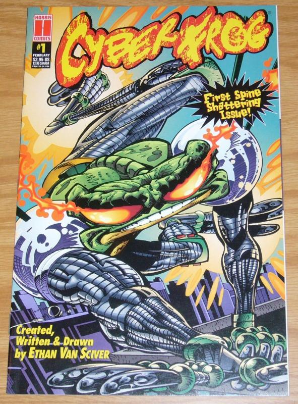 CyberFrog (Harris) #1 VF/NM; Harris | ethan van sciver - save on shipping