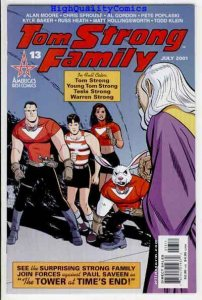 TOM STRONG #13, NM+, Alan Moore, Russ Heath, Kyle Baker, 1999, more in store