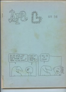APA-L #36 – Fanzine from the Los Angeles Science Fantasy Society (June, 1965)