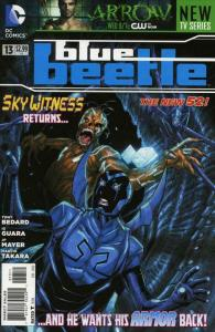 Blue Beetle (5th Series) #13 VF/NM; DC | save on shipping - details inside