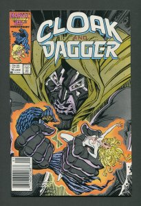 Cloak & Dagger #10 / 9.4 NM  Newsstand January 1987