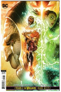 Justice League Odyssey #12 YOTV Tan Card Stock Variant (DC, 2019) NM