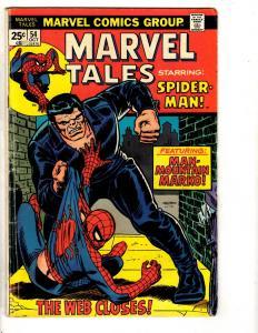 Lot Of 9 Marvel Tales Comic Books # 54 126 192 199 209 252 253 225 275 DB10