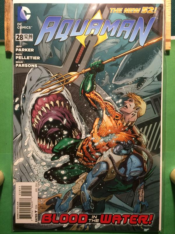 Aquaman #28 The New 52