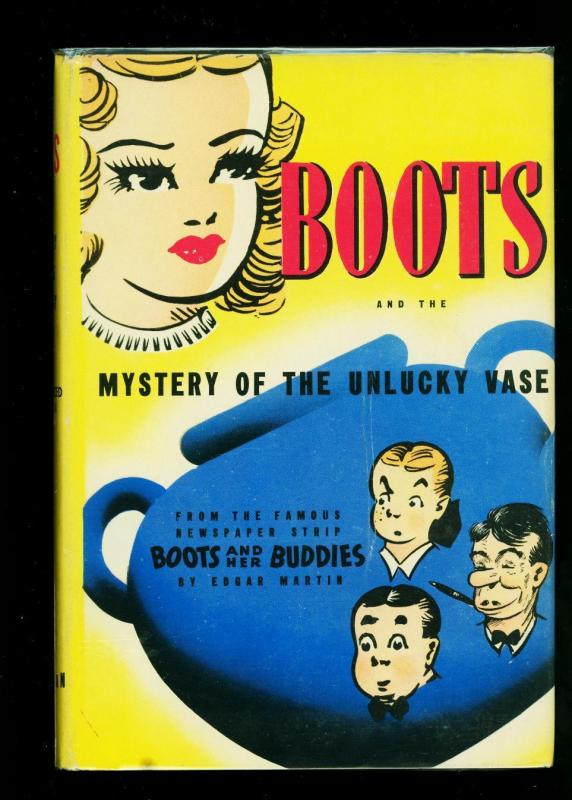Boots and the Mystery of the Unlucky Case hardcover with dust jacket- Whiteman