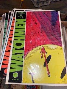 Watchmen (1988) Lot - Complete Mini Series Set w/#s 1-12, 1st Prints