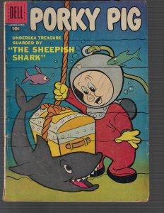 Porky Pig #51 (Dell, 1957) VG+
