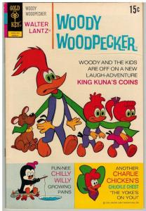 WOODY WOODPECKER 122 F-VF Mar. 1972