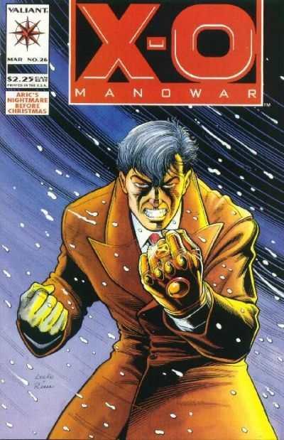 X-O Manowar (1992 series) #26, VF+ (Stock photo)