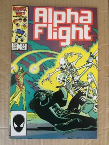 Alpha Flight #28 (1985)