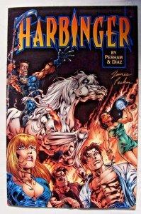 Harbinger: Acts of God #1 (Jan 1998, Acclaim / Valiant) Signed by James Perham