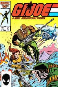 G.I. Joe: A Real American Hero (1982 series) #56, VF+ (Stock photo)