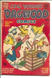 Dagwood #18 1952-Harvey-Chic Young-Blondie-Popeye-Little King-puzzle page-G/VG