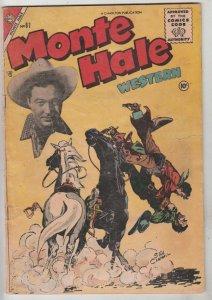 Monte Hale Western #87 (Aug-53) VG Affordable-Grade Monte Hale