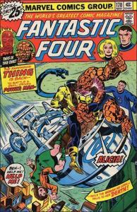 Marvel FANTASTIC FOUR (1961 Series) #170 VG+