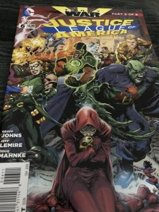 DC Justice League Of America #6 Mint