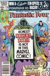 Fantastic Four (Vol. 1) #238 (Newsstand) FN; Marvel | save on shipping - details