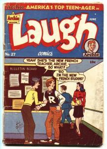 LAUGH COMICS #27 1948- ARCHIE COMICS-Lingerie panels